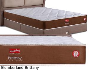 Slumberland FIR Brittany Far Infrared Ray 1200 Pocketed Posture Spring Non Flip 15 Year Warranty Mattress Height 12